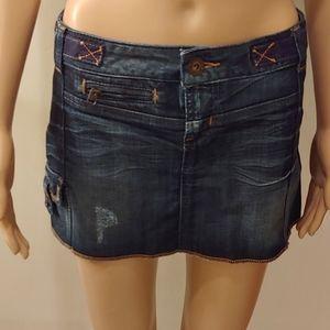 Guess Ladies mini skirts.